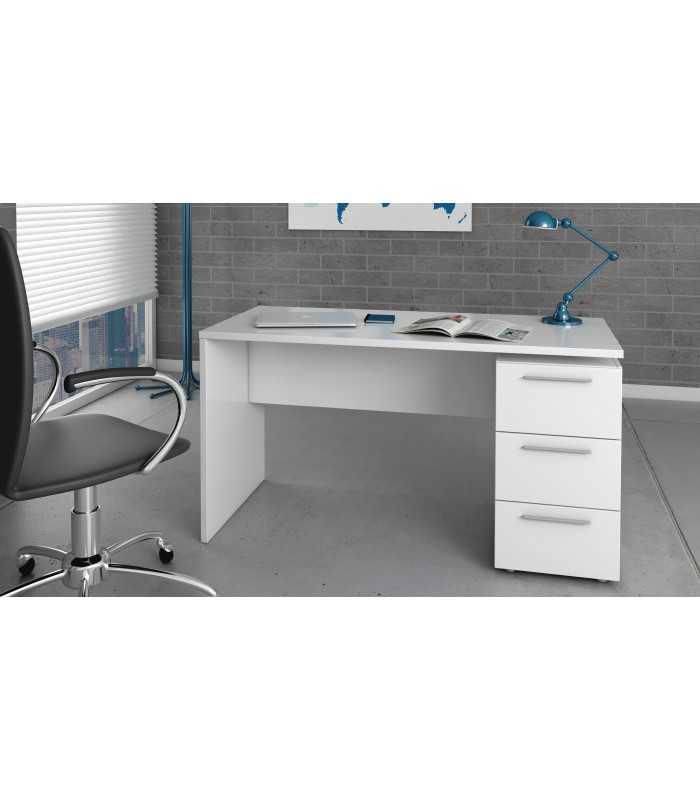 Excelente Muebles De Escritorio De Oficina Blanco Galería - Muebles ...