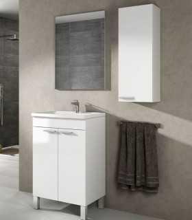 305210BO+305913O - Mueble 2 puertas + lavabo + Espejo - Arkitmobel Koncept